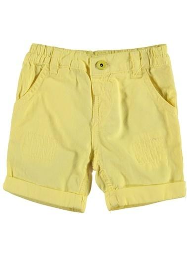 Panço Bermuda Sarı